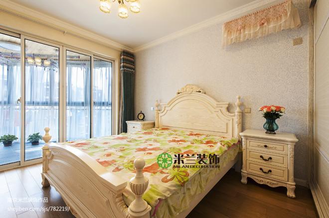欧式卧室窗户装修效果图