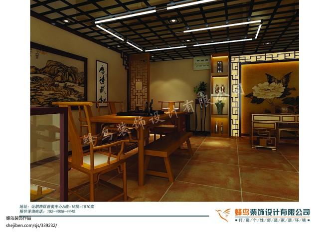 古玩城中式茶室_1396642