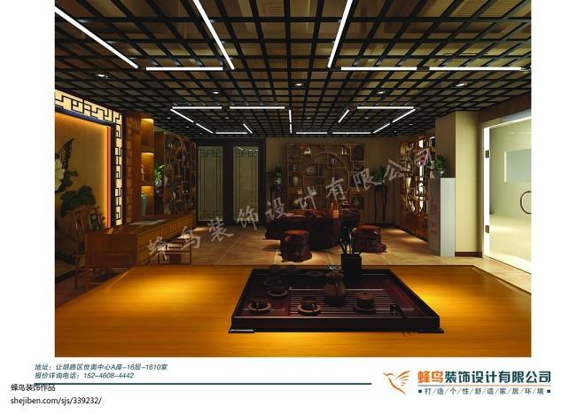 古玩城中式茶室_1396643