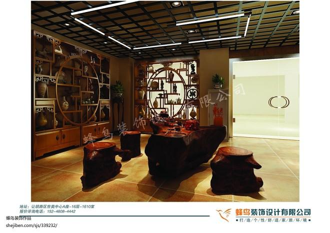 古玩城中式茶室_1396644