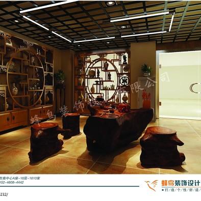 古玩城中式茶室