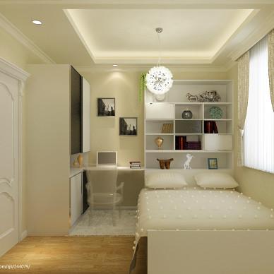 二居室9平米卧室装修效果图