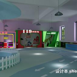 幼儿园建筑设计效果图图集欣赏