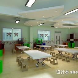 幼儿园课桌椅效果图片欣赏
