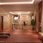 别墅豪宅榆木地板装修设计