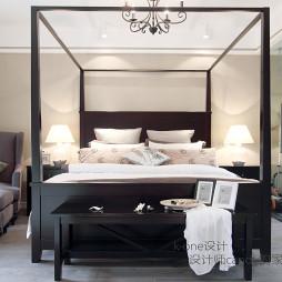现代三室卧室图片