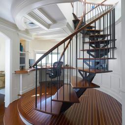 豪华复式暗楼梯装饰设计