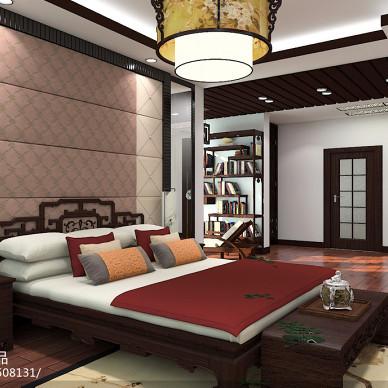 中式家居装修设计效果图
