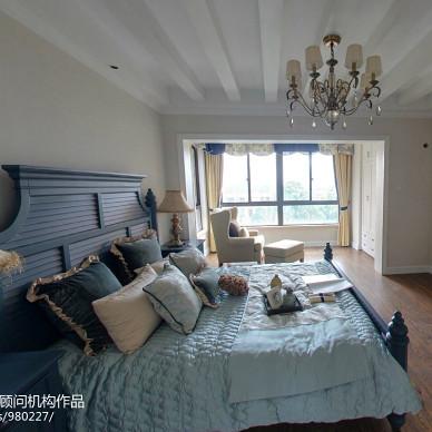 美式风格极简主义卧室装修图片欣赏