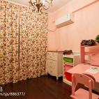 美式风粉色房间装修效果图