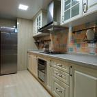 美式风格厨房收纳装修效果图大全