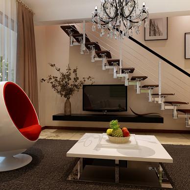复式楼家具沙发装修设计图片