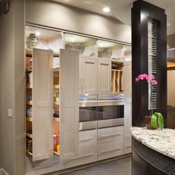 厨柜拉篮效果图集欣赏