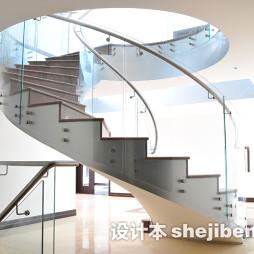 家居铁艺楼梯扶手装饰图片