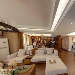 中式新古典风格客厅吊顶设计