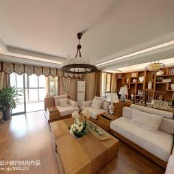 新古典中式客厅装修图片