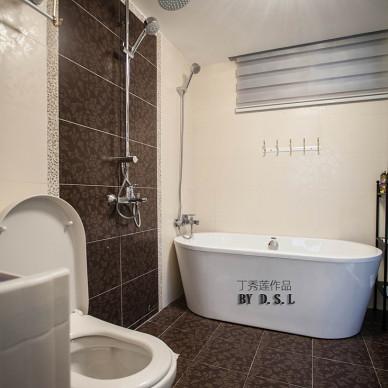 欧式洗手间地砖效果图大全