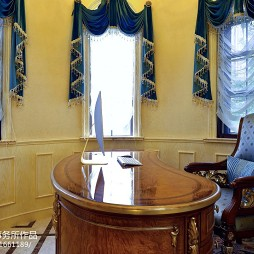 美式书房装修效果图大全