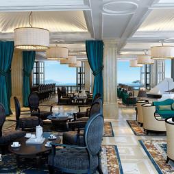 混搭风格酒店咖啡厅装修设计图片