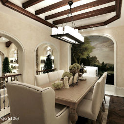 地中海餐厅装修图片