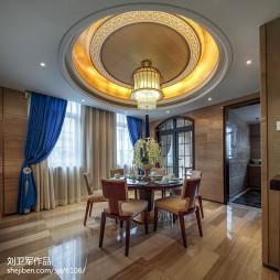 中式别墅艺术灯装修设计图片欣赏