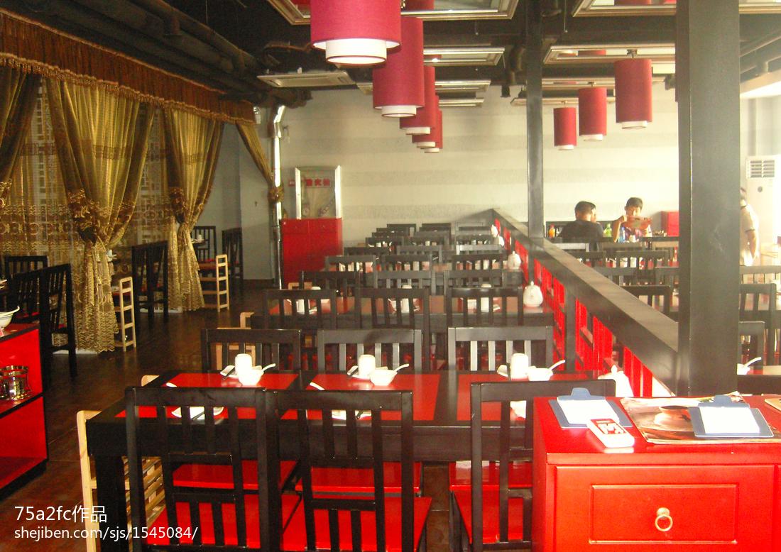 中式小火锅店装修图片