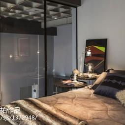 东南亚风格loft卧室装修效果图