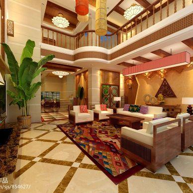 东南亚风格家用沙发装修图片