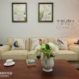 三室两厅家用沙发装修图片