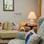 美式客厅布艺装修效果图
