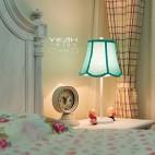 休闲美式风格儿童房布艺装修效果图
