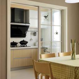 农村现代风格厨房设计装修效果图