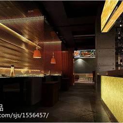 餐厅餐馆设计装修效果图