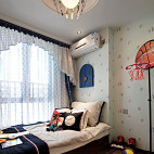 现代风格样板房卧室榻榻米装修图片