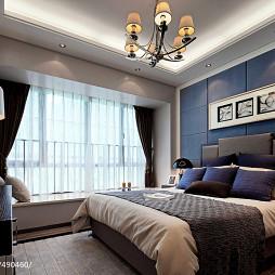 现代卧室装修效果图大全2017图片