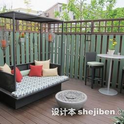 家居阳台栏杆装修设计