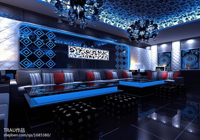 梦幻星级酒店视听室设计图