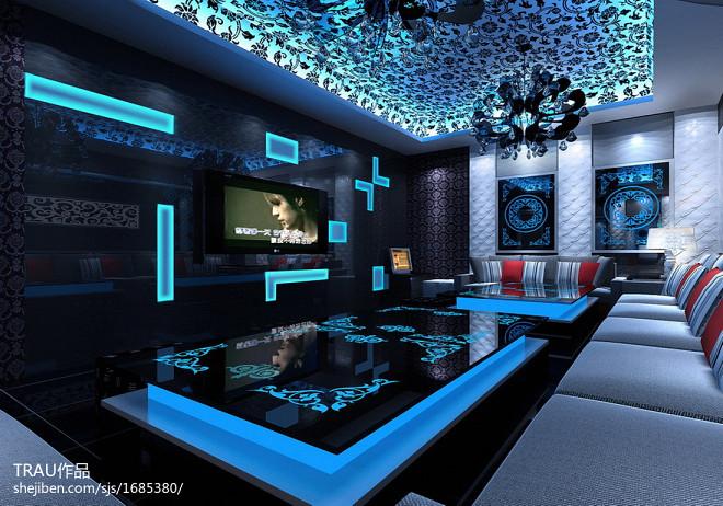 梦幻四星级酒店视听室设计图欣赏