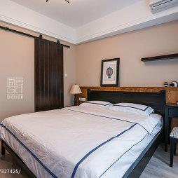 混搭风格三居室卧室装饰品图片