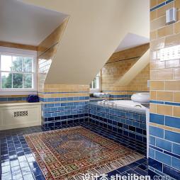 地中海风格浴室设计