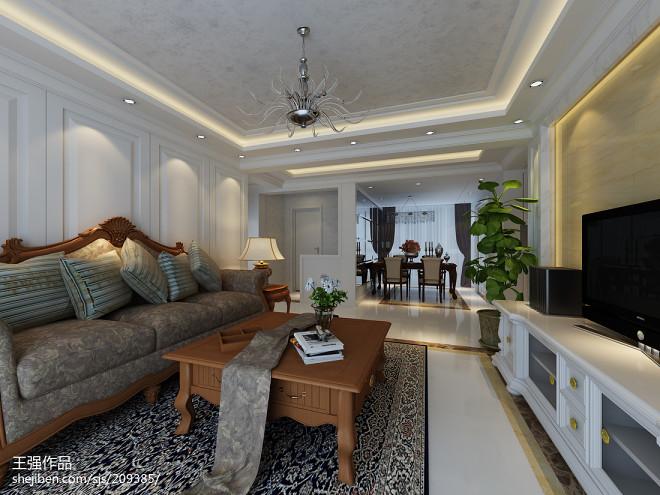 三居室红木沙发装修设计图片