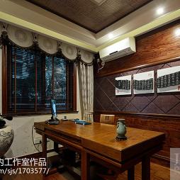 中式家装书房装修效果图大全