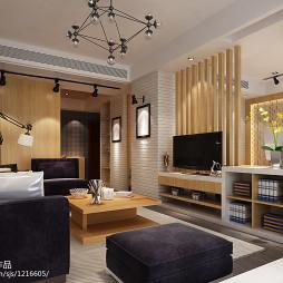 LOFT风格单身公寓装修图