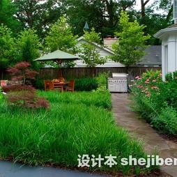 别墅花园景观设计图片欣赏