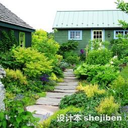 最新别墅花园景观设计效果图大全