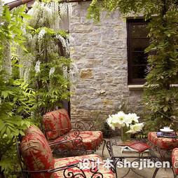 最新别墅花园景观设计图片大全