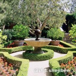 最新别墅花园景观设计图片欣赏