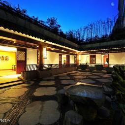 中式花园装修效果图大全