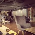 混搭风格咖啡厅装修设计效果图