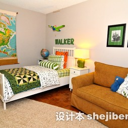 男儿童房间家居装修设计